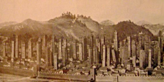 I grattacieli di Bologna