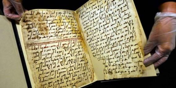 Il più antico frammento del Corano