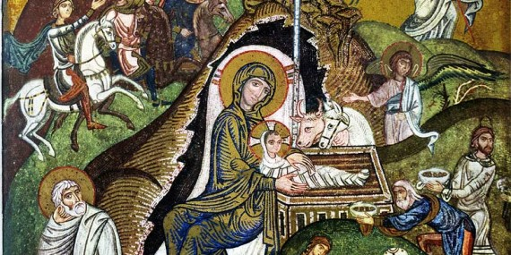 Icona Natività Cappella Palatina Palermo
