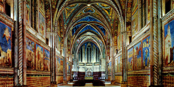 Basilica superiore Assisi interno