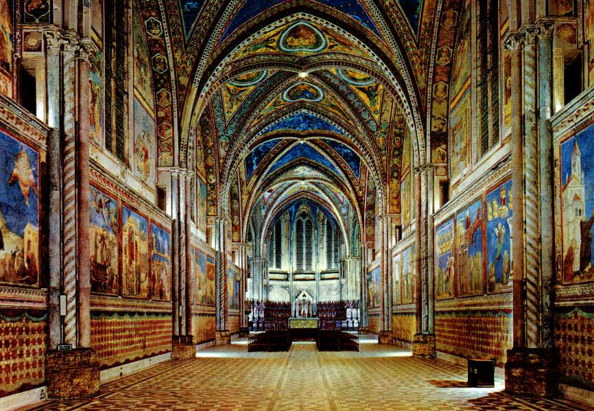 Il messaggio nascosto negli affreschi di assisi festival - Pitture da interno ...