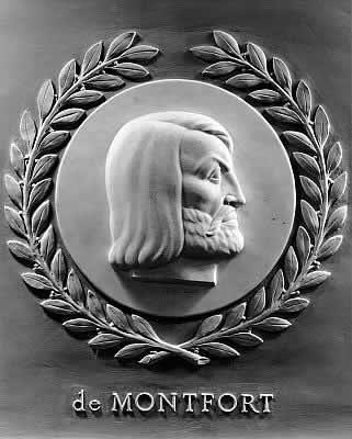 Effigie di Simone V di Montfort nella Camera dei Rappresentanti degli Stati Uniti