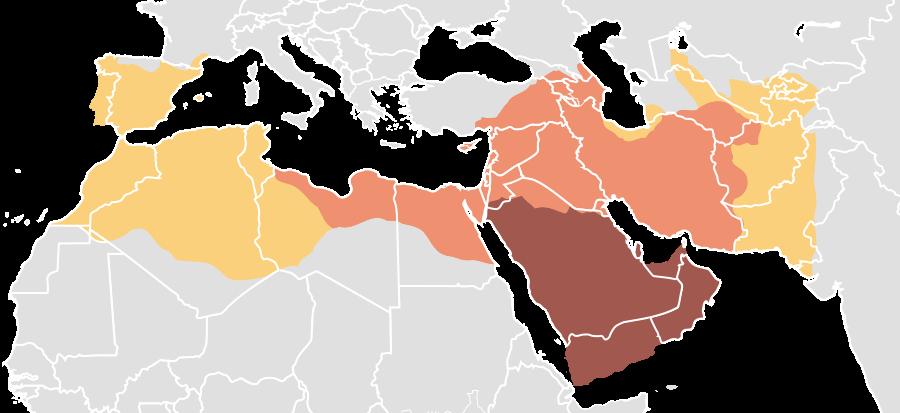 Espansione dall'Islam