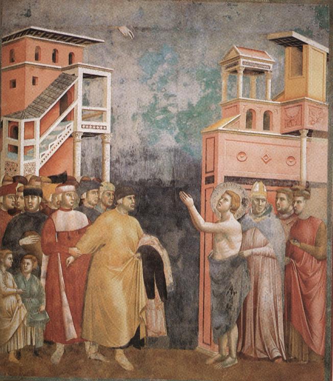 Giotto_Rinuncia agli averi