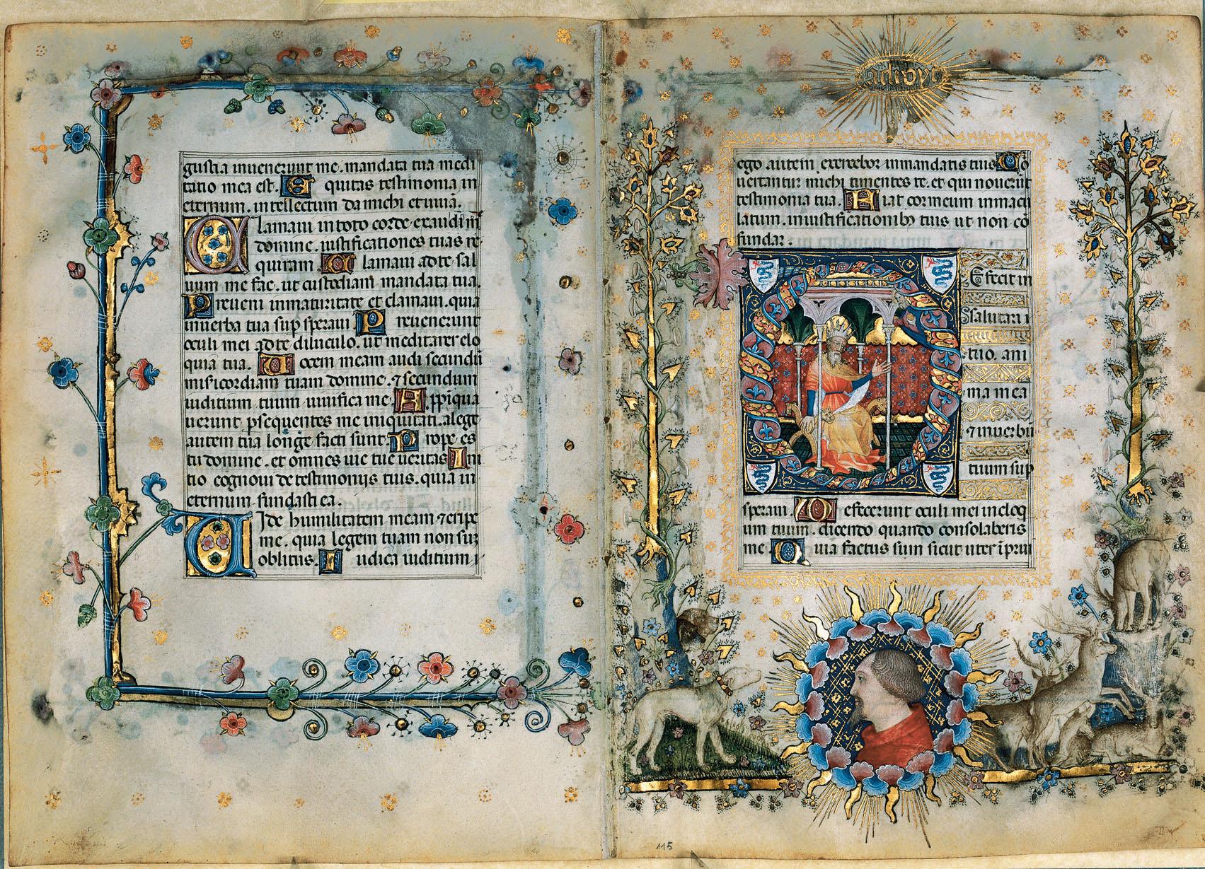 Giovanni-dei-Grassi-Hours-of-Giangaleazzo-Visconti-1395-Tempera-and-gold-on-parchment