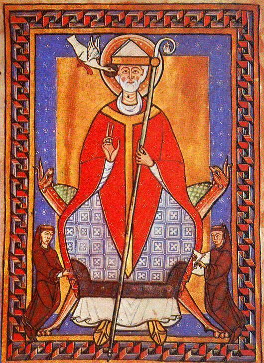 Gregorio VII -Pope_gregory_vii_illustration