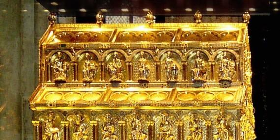 Il reliquiario dei Magi nel Duomo di Colonia