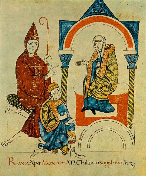 Matilde e Hugo di Cluny