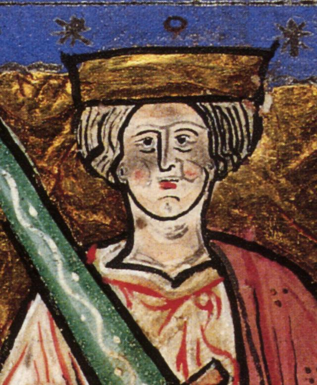 Etelredo dal manoscritto Cronaca di Abingdon