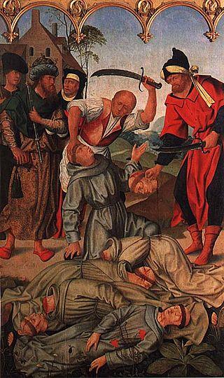 Francisco Henriques, Mártires de Marruecos, 1508, Museu Nacional de Arte Antiga di Lisbona.