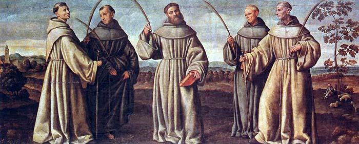 I protomartiri in un dipinto cinquecentesco di Bernardino Licinio.
