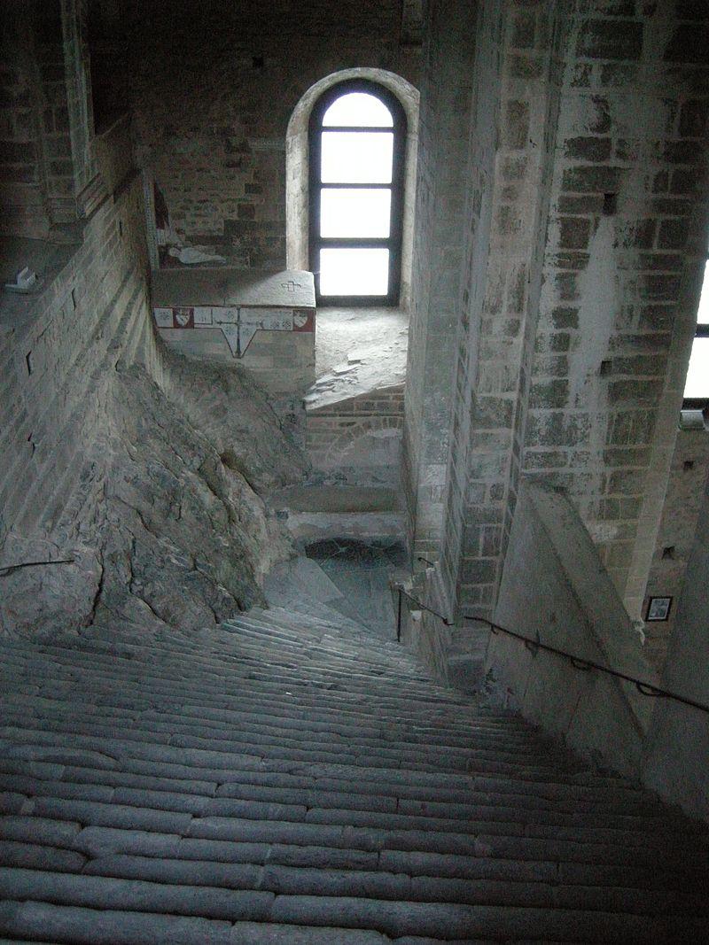 Lo scalone dei morti - Sacra San Michele