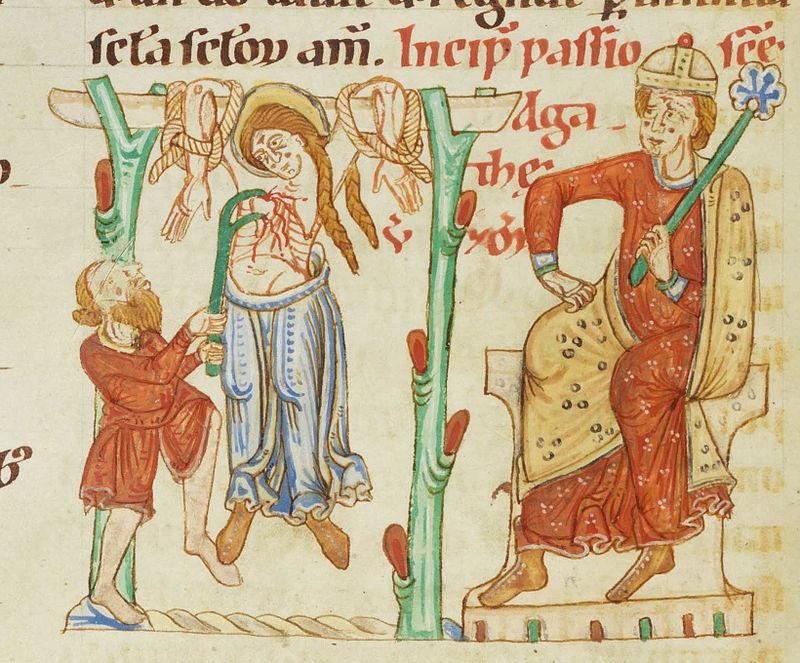 Martirio di sant'Agata