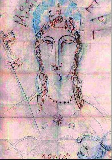 Sant'Agata in un disegno di Modigliani