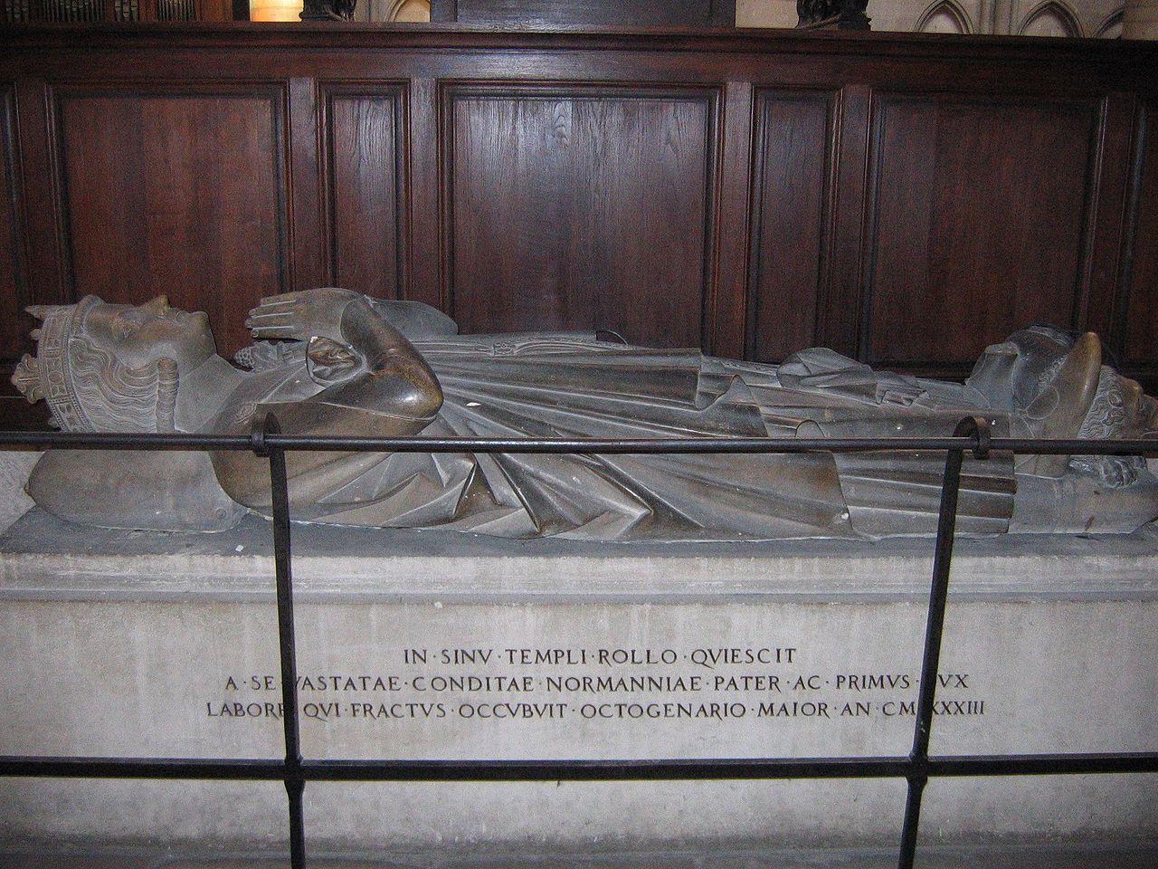 Tomba di Rollone Cattedrale di Rouen
