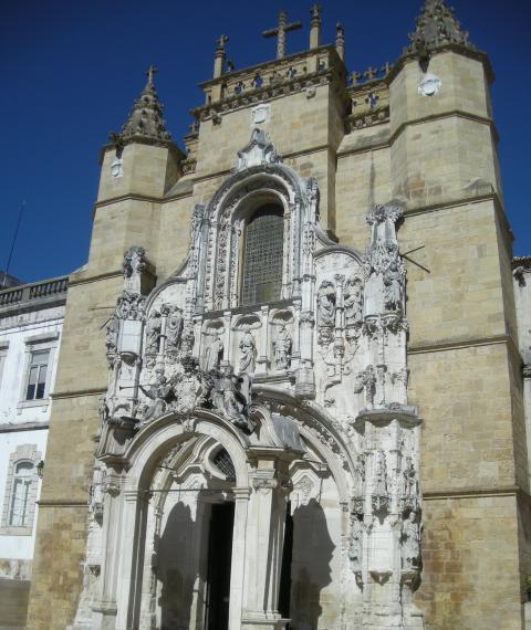 La chiesa di Santa Croce a Coimbra.