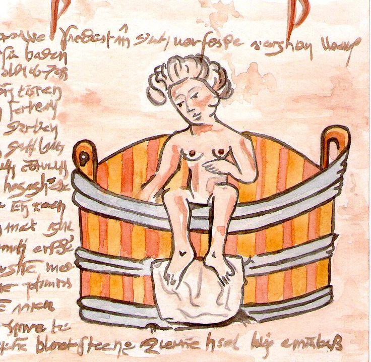Illustrazione da un manoscritto medievale del De passionibus mulierum ante in et post partum.