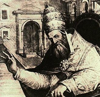 Gregorio XI,al secolo Roger de Beaufort.