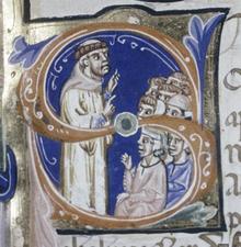 Folco da Neully predica per la Quarta Crociata