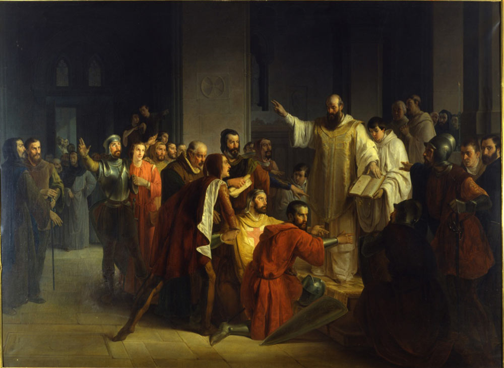Il giuramento di Pontida (GiuseppeMazza, 1851).