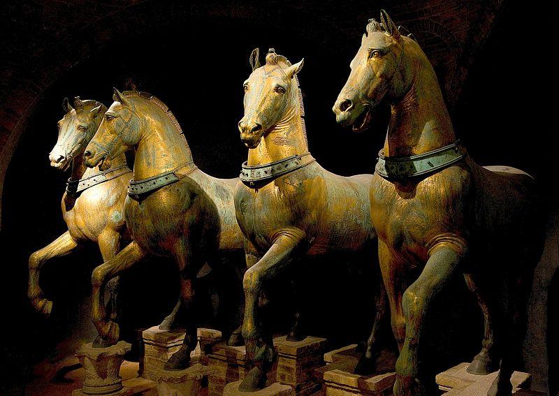 I cavalli della basilica di San Marco