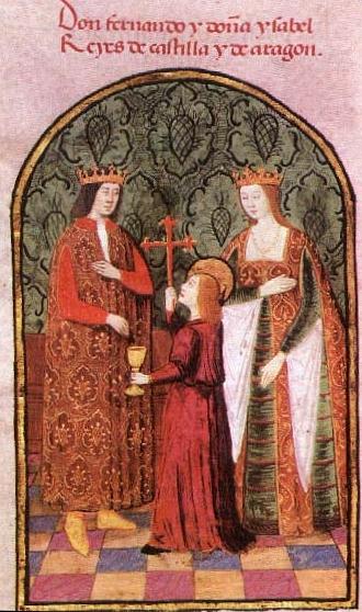 Isabella di Castiglia e suo marito Ferdinando d'Aragona