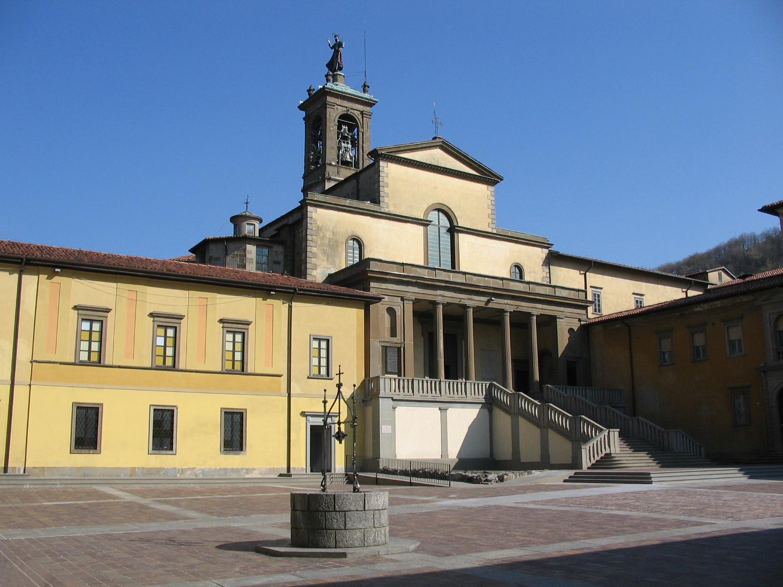 L'abbazia di Pontida, altrimenti nota anche come Monastero di San Giacomo Maggiore, si trova nel territorio dell'omonimo comune in provincia di Bergamo.