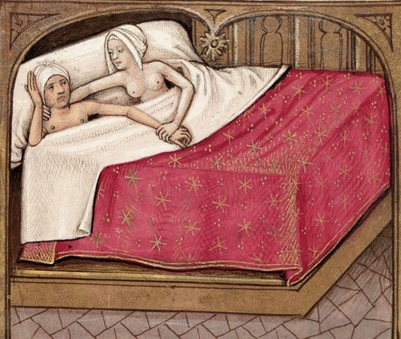 Lovers-in-Bed