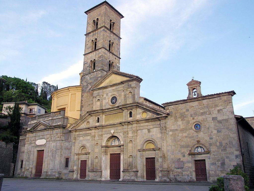 La chiesa di Santa Cristina a Bolsena