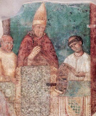 Bonifacio VIII indice il giubileo del 1300