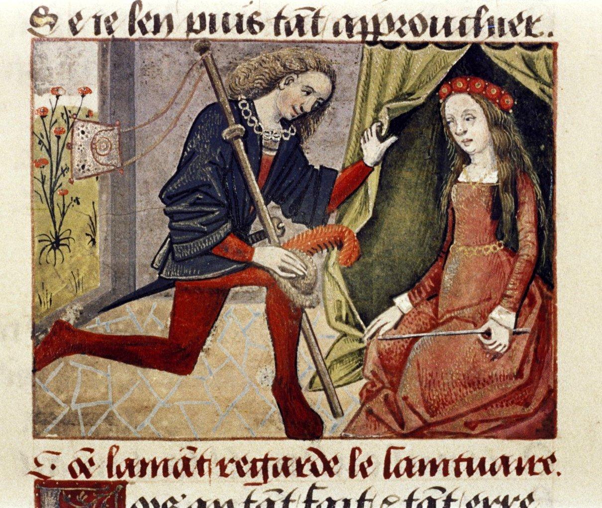 Stava a guardare il capello, l\u0027uomo del Medioevo segno di potere e  autorità, ma anche ricettacolo del maligno quando acconciato con vanità.