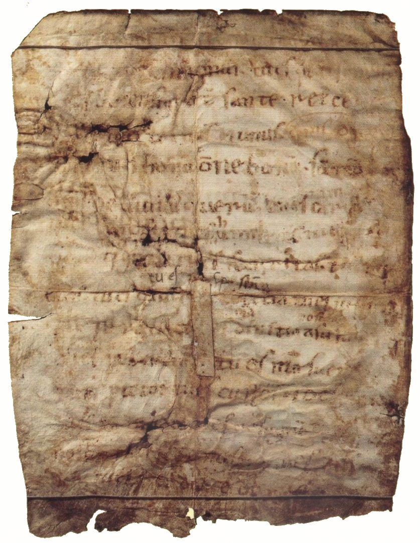 Chartula fratri Leoni Lodi di Dio altissimo, Bas Francesco, Cappella Reliquie
