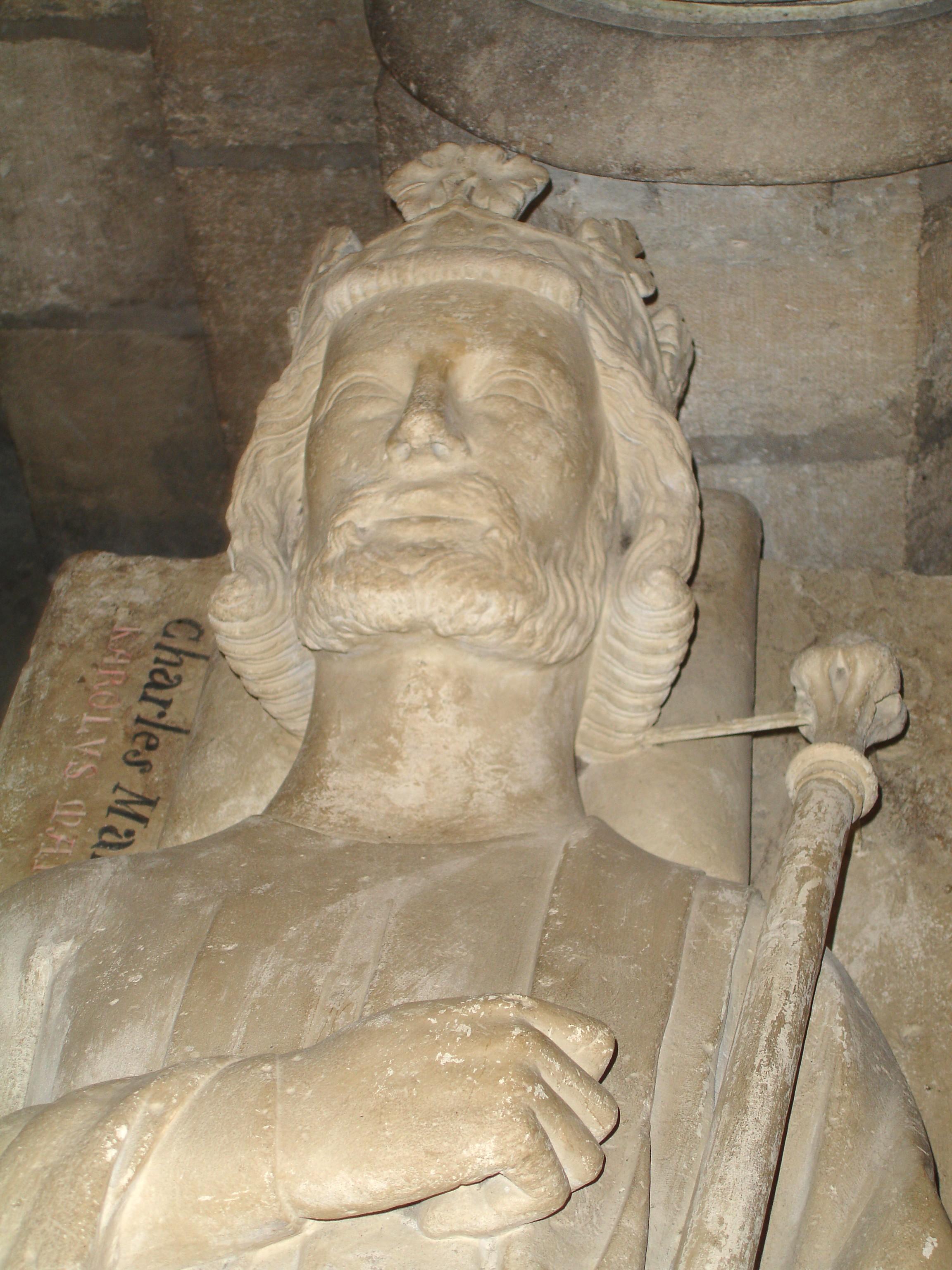 Tomba di Carlo Martello a Saint-Denis