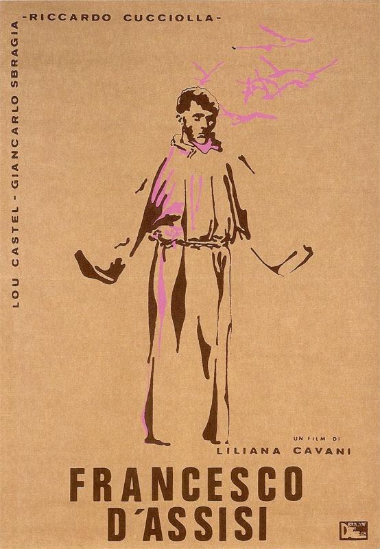 """La locandina di """"Francesco d'Assisi"""" (1966)"""