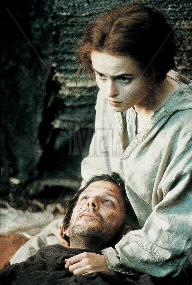 """L'attirce Helena Bonham Carter interpretò Chiara in """"Francesco"""" del 1989"""