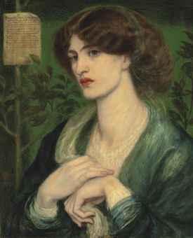 Dante Gabriele Rossetti, Beatrice, 1882