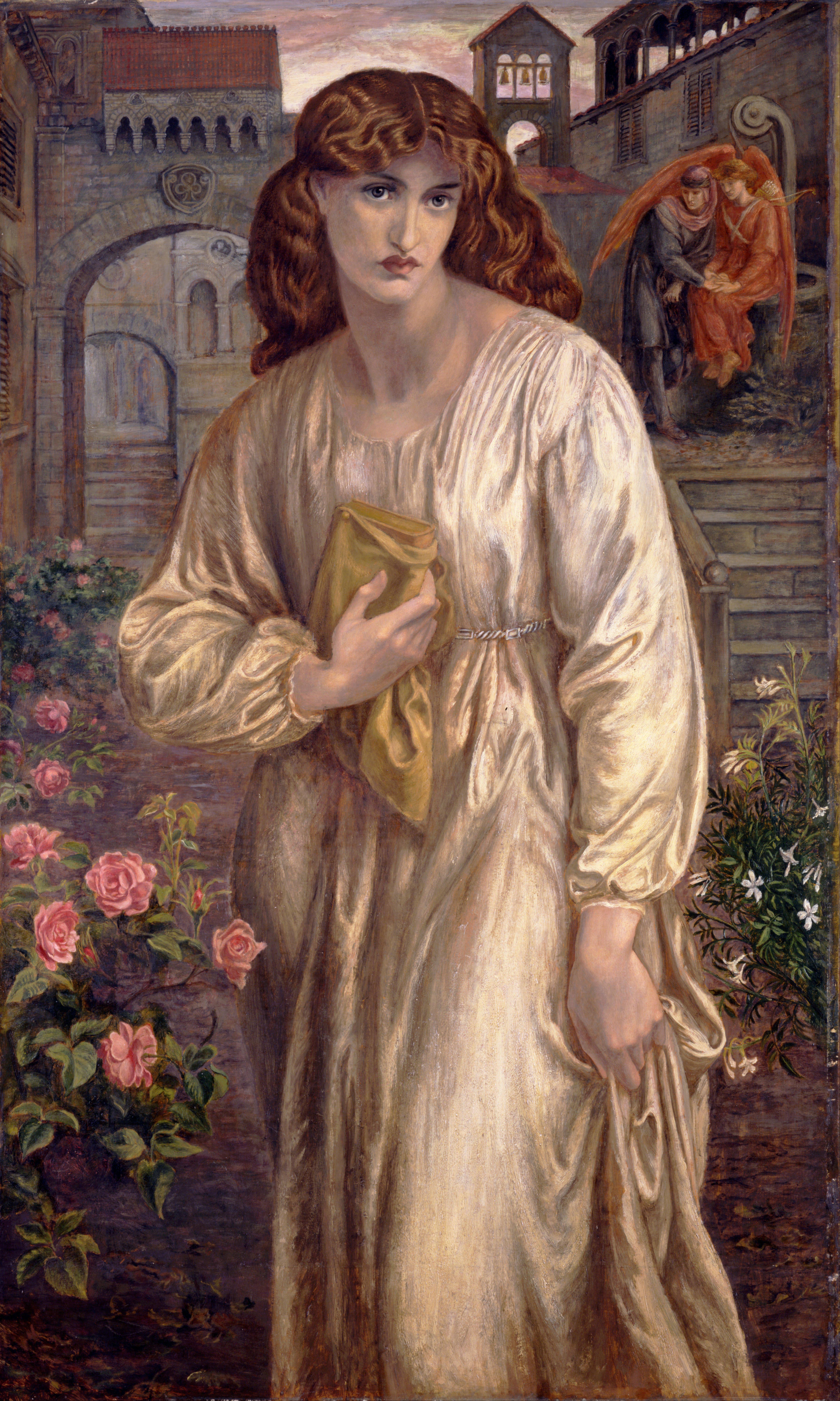 Dante Gabriele Rossetti, Il saluto di Beatrice, 1882, Toledo Art Museum