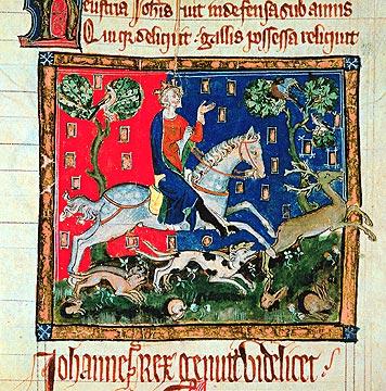 Giovanni Senzaterra - British Library, Cott. Claude D2. F.113, XIV sec.