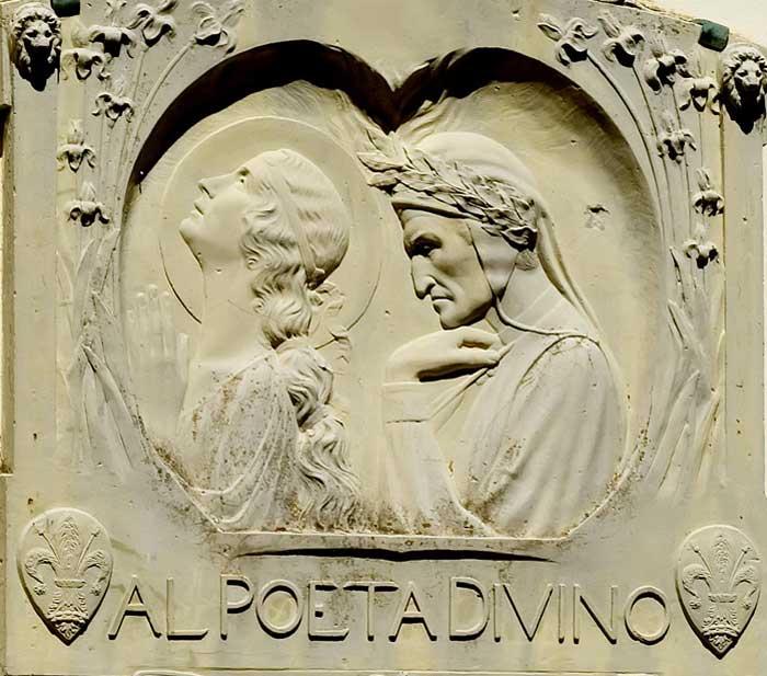 Hendrik Christian Andersen, Dante e Beatrice, 1921