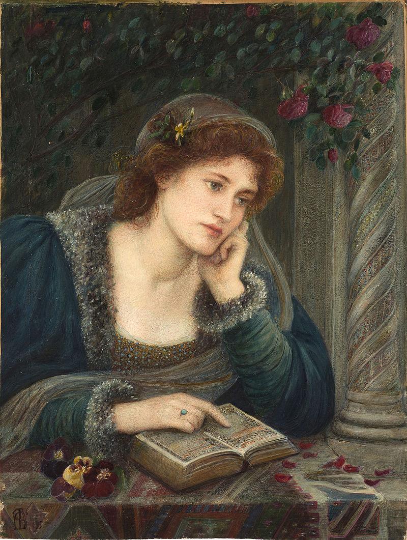 Marie Spartali Stillman, Beatrice (1895)