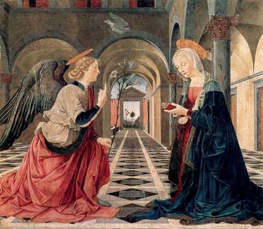 Piermatteo d'Amelia, Annunciazione, Boston, Isabella Stewart Gardner Museum