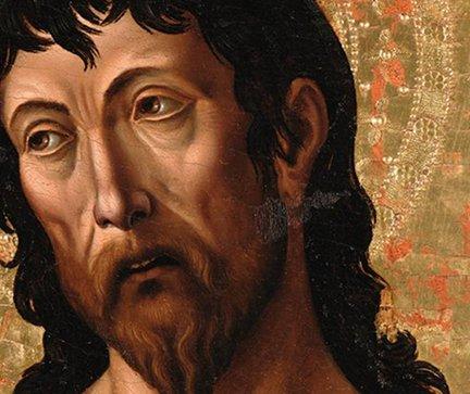 San Giovanni Battista (scomparto laterale del Polittico di Sant'Agostino) di Orvieto 1479-1481 Altenburg Statliches Lindenau Museum
