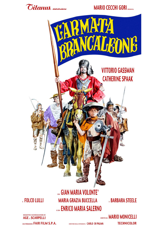 La locandina de L'Armata Brancaleone (1966)