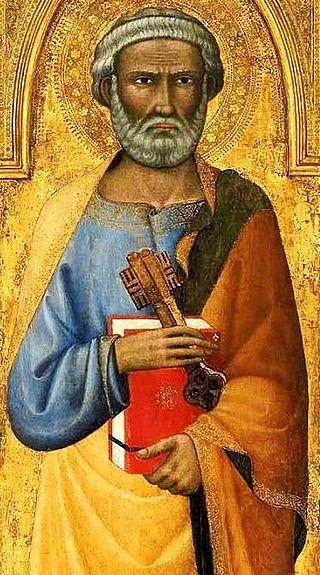 Andrea Vanni, San Pietro, 1390