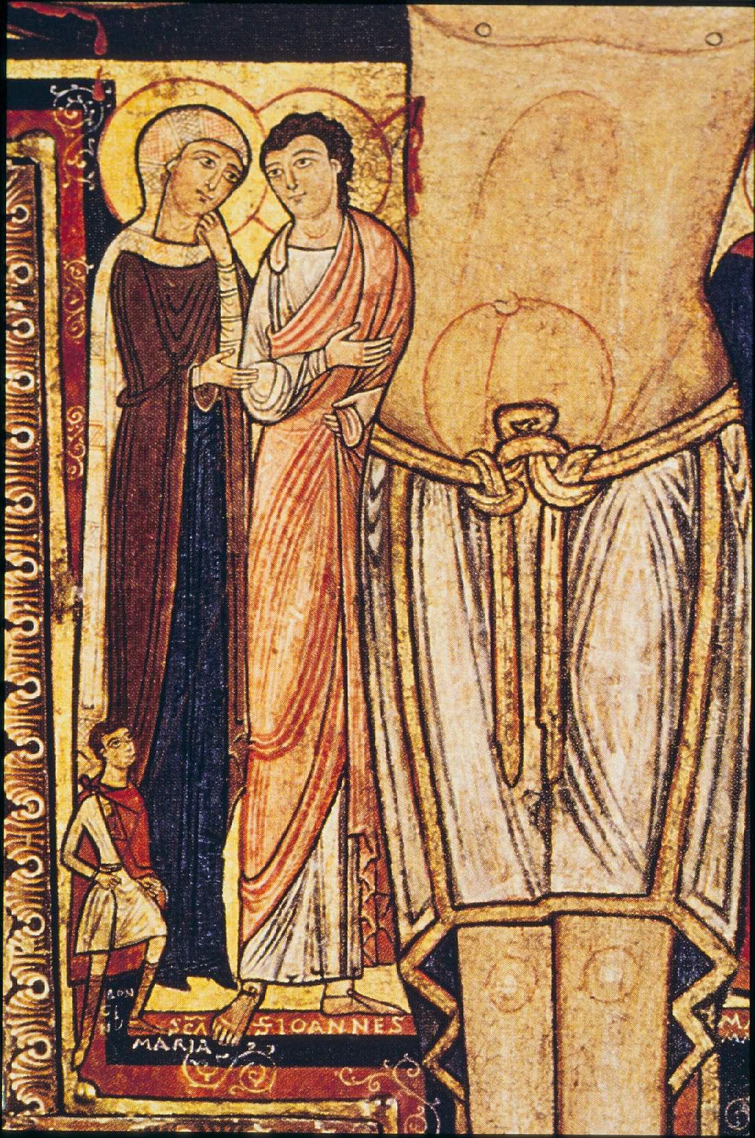 Crocifisso di San Damiano San Giovanni la Madonna e Longino