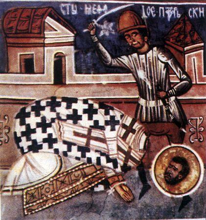 Il martirio di san Metodio