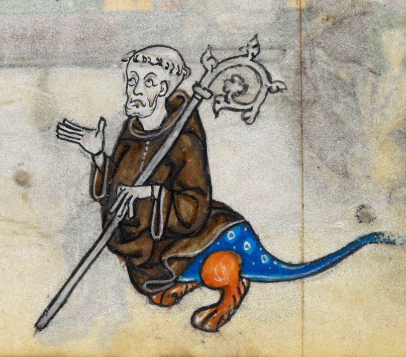 L'animale dentro il monaco