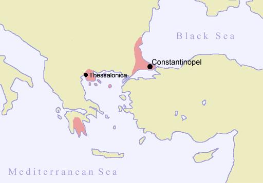 L'impero bizantino nel XV secolo