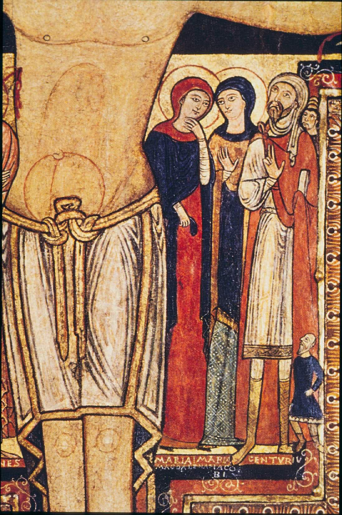 Maria di Magdala, Maria madre di Giacomo il minore ed il centurione