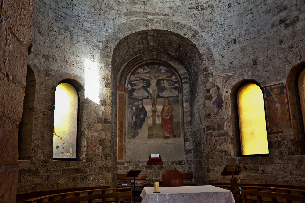La chiesa di San Salvatore è il più antico luogo di culto cristiano di Terni